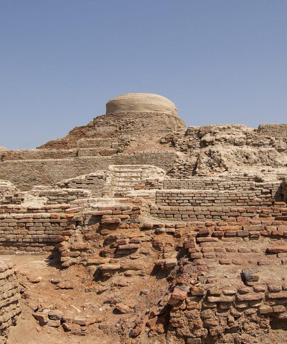 Stupa of Moen Jo Daro